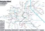 Netzplan Wien Tram 2018
