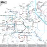 Netzplan Wien Tram 2015